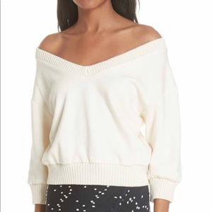 NWT 3.1 Phillip Lim French Terry Crop Sweater